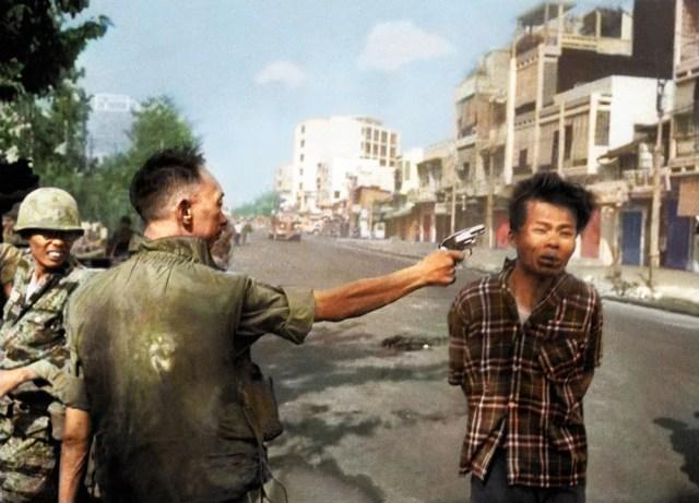 vietcong shot vietnam saigon