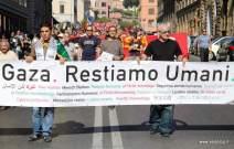 Restiamo Umani Roma. Foto Alessio Fratticcioli