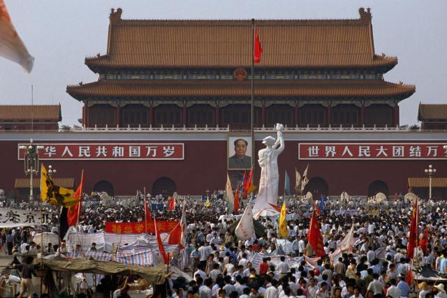 Dea della Democrazia Piazza Tiananmen