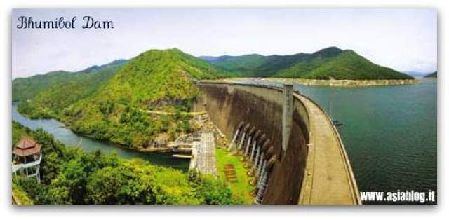 thailand bhumibol dam tak province