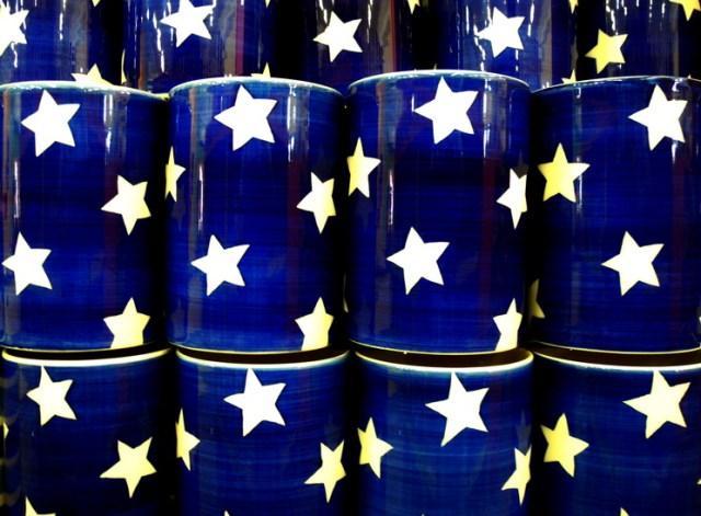 stelle in tazza