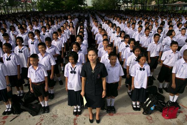 thailandia scuola caserma