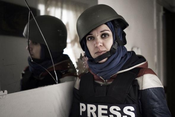 Francesca Borri giornalista foto alessio romenzi