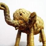 elefante intrecciato