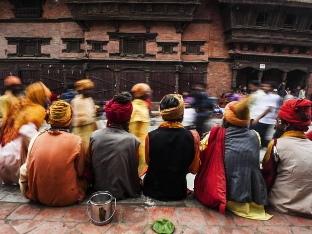Nepal Festival Gaijatra Kathmandu 2013