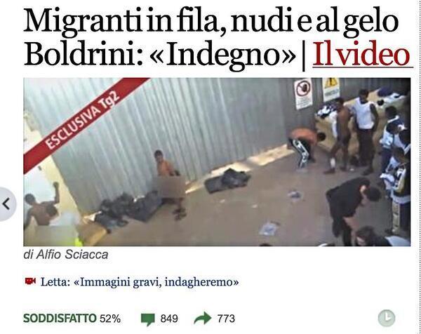 migranti stranieri vaffanculo