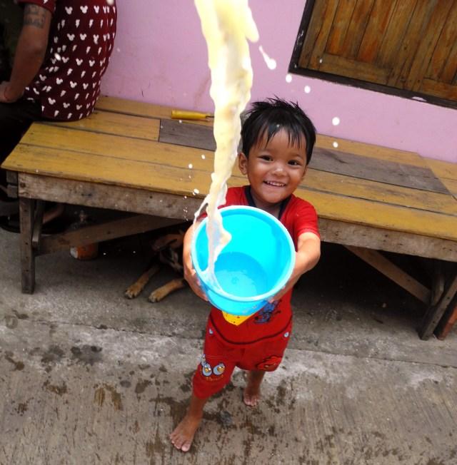 Thailandia, acqua, Songkran a Tak