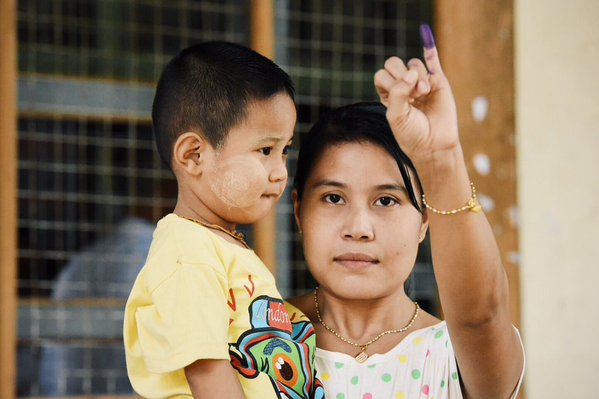 Elezioni Myanmar Birmania 2015