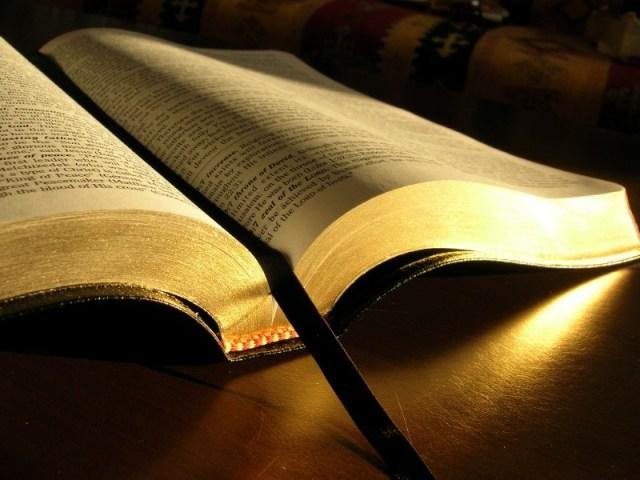 La Bibbia (composta, secondo il Canone Cattolico, da 73 libri) e' una delle letture consigliate da Neil deGrasse Tyson.
