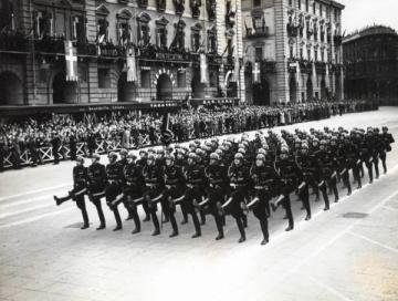 Parata militare fascista