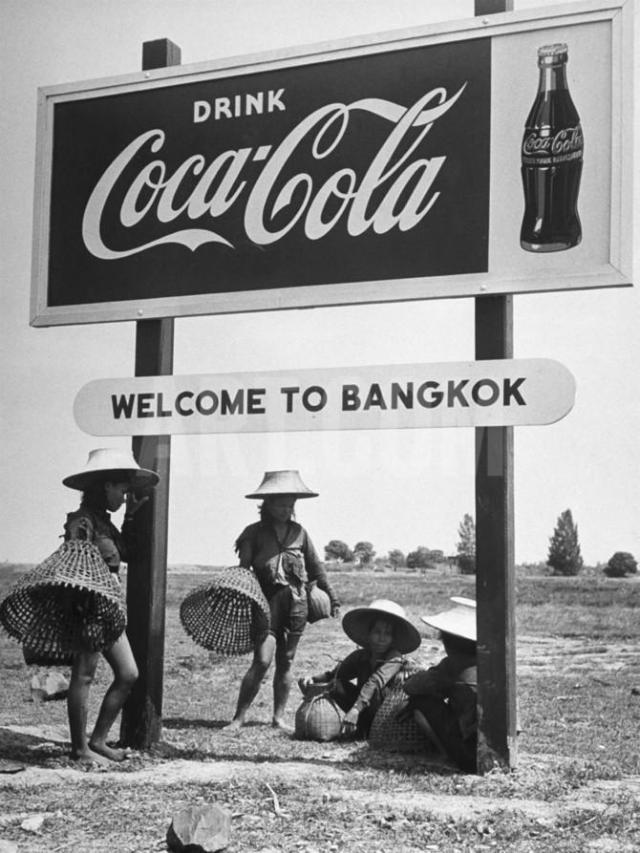 bangkok benvenuto thailandia coca cola