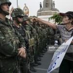 Thailandia colpo di stato proteste soldati