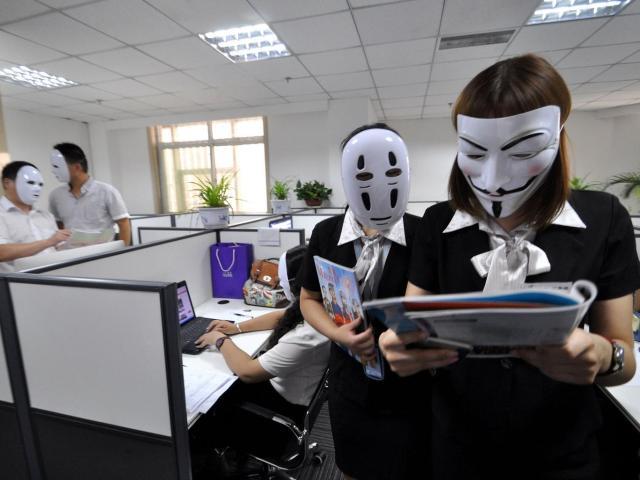 cina faccia maschera mianzi guanxi cultura cinese