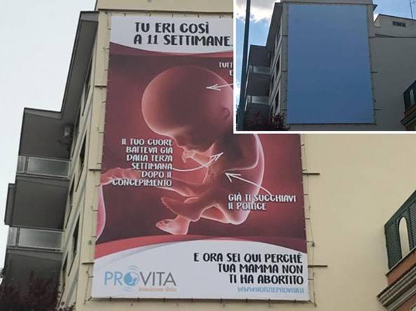 aborto cartellone