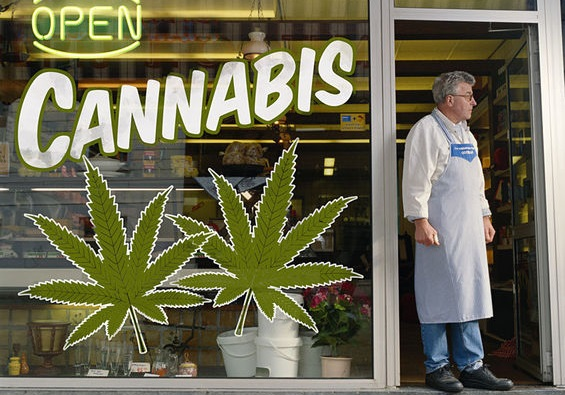 marijuana cannabis shop