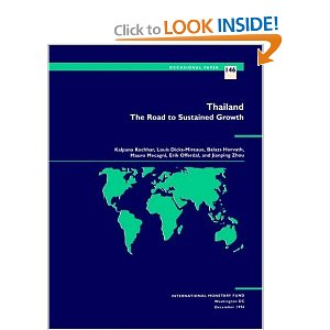 Thailand The Road to Sustained Growth (Occasional Paper (Intl Monetary Fund))