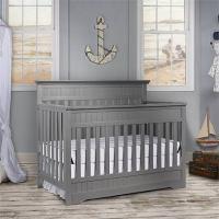 Tempat Tidur Bayi Mewah Warna Grey