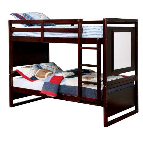 Tempat Tidur Tingkat Jati Minimalis Jefri