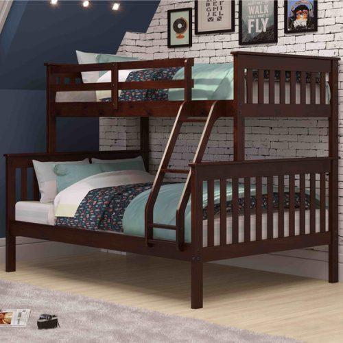 Tempat Tidur Tingkat Modern Multifungsi