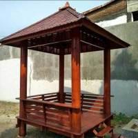 Rumah Gazebo Kayu