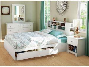 Kamar Set Minimalis Putih Model Laci
