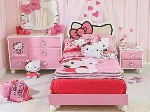 Set Kamar Anak Hello Kitty