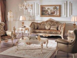 Kursi Tamu Sofa Mewah Luxury