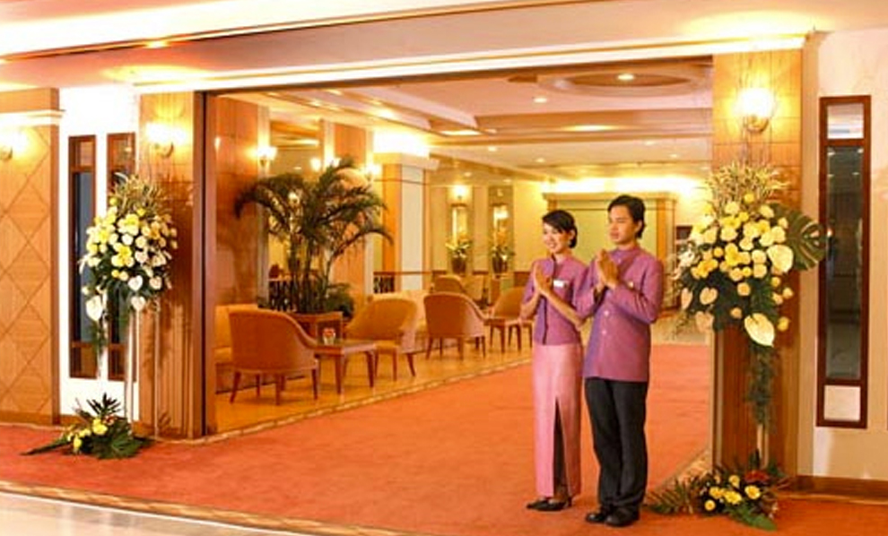 Asia Airport Hotel : Lobby Hall