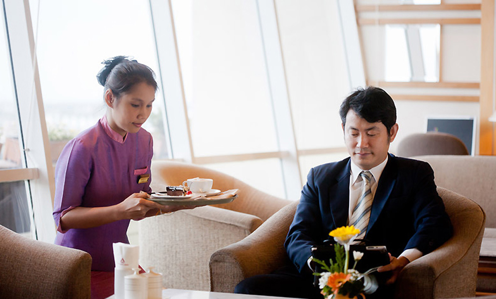 Asia Airport Hotel : Coffee Corner