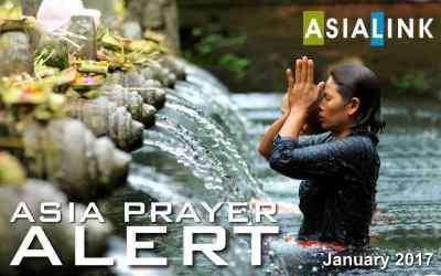 Monthly Prayer Alert – January 2017