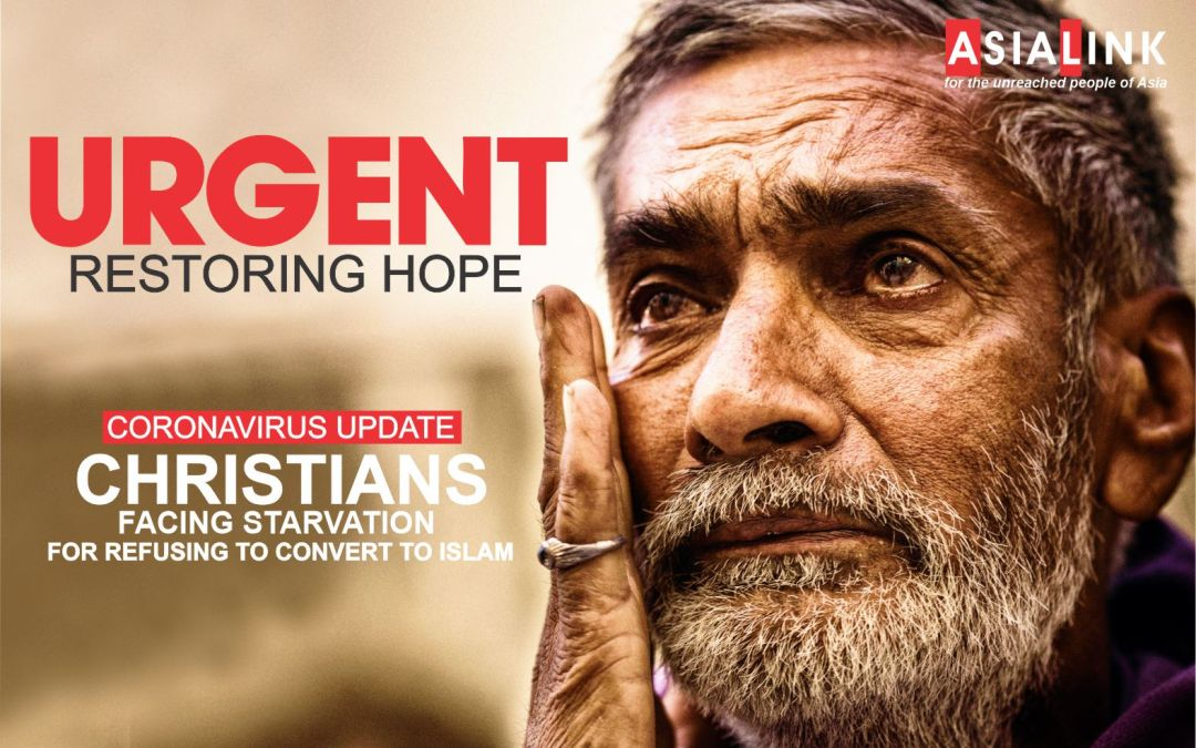 CHRISTIANS FACING STARVATION FOR REFUSING TO CONVERT TO ISLAM