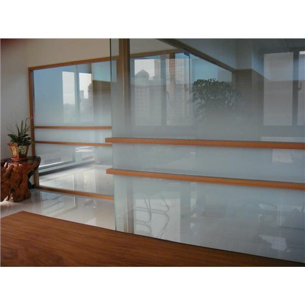 玻璃貼紙5尺雙向漸層工程介紹 編號:32837-精晟有限公司
