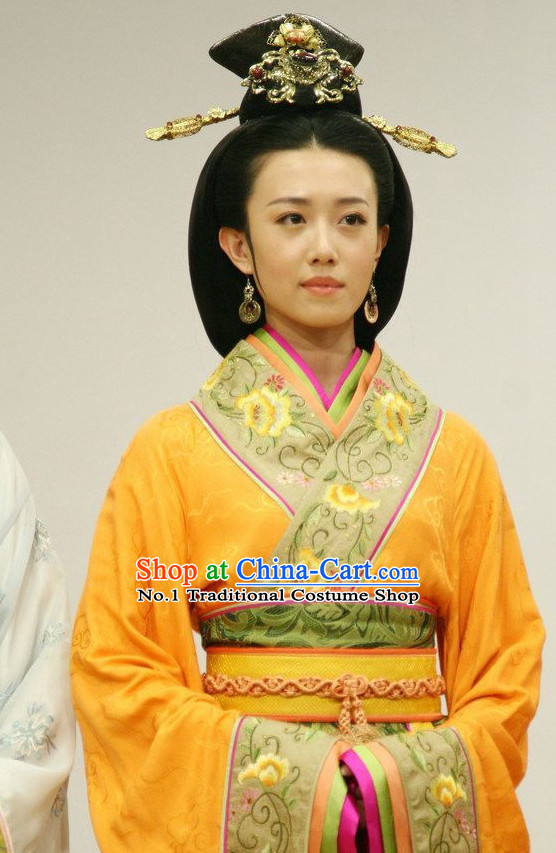 Ancient Chinese Diao Chan Costumes Full Set
