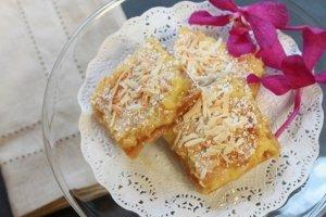 Lemongrass Coconut Bars