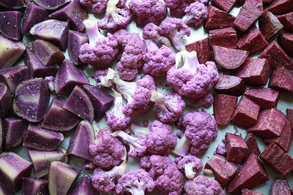 purple veggies