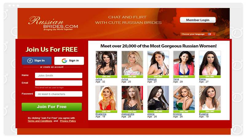 Russian american dating site