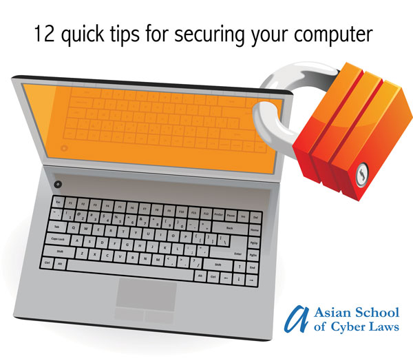 12 quick tips for securing your computer
