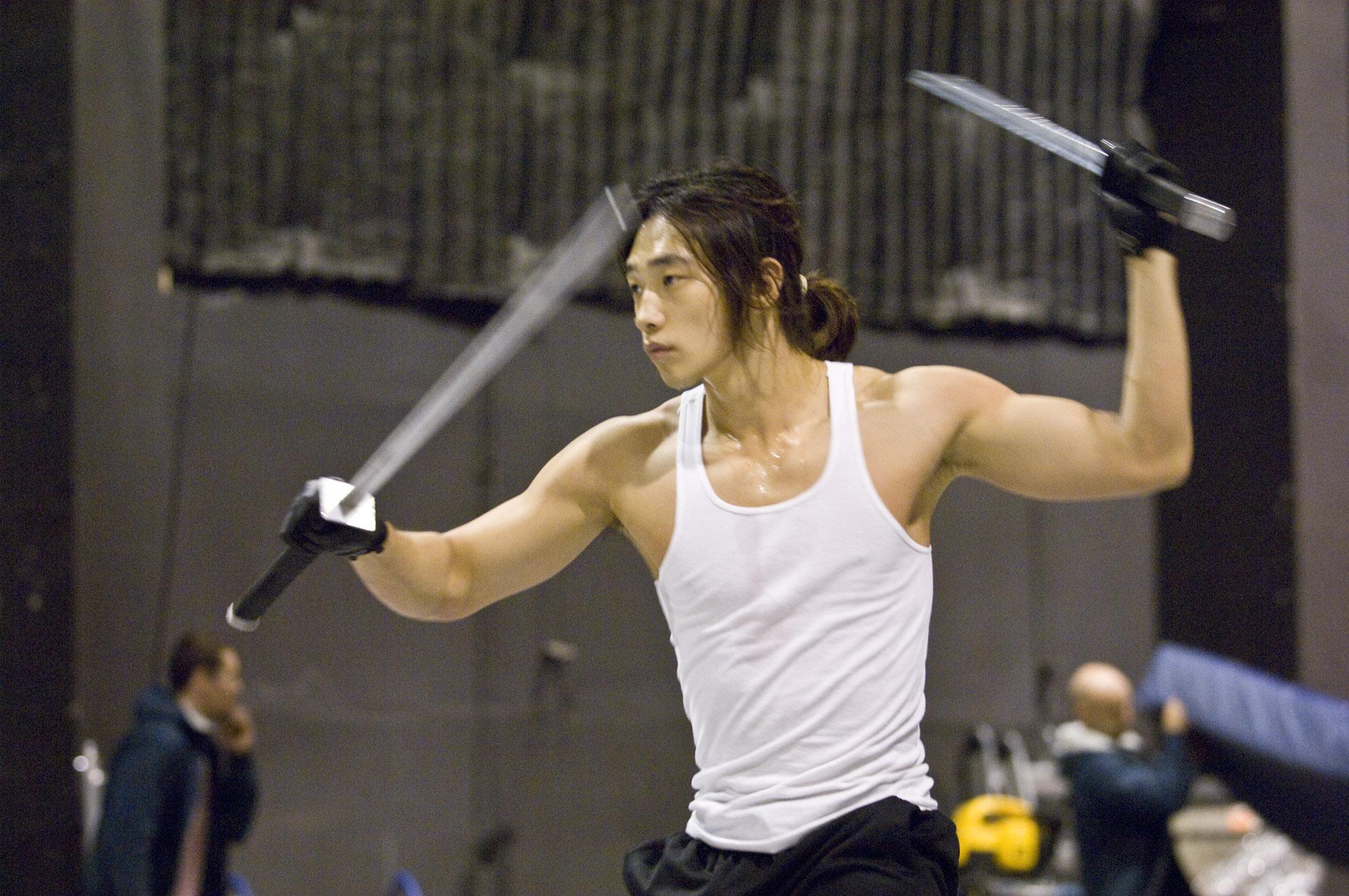 Asian Loop Rain Behind The Scenes Of Ninja Assassin