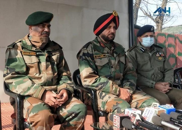 Three militants killed in Lawaypora encounter were planning a big attack: GoC Kilo Force H S Sahi