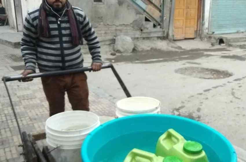 Drinking water shortage hits Batwara Srinagar area