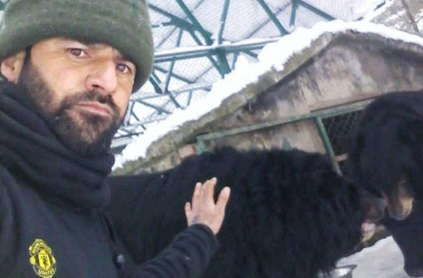 Farooq Kumar: A man who feeds wild bears by hand