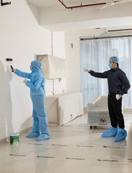 Safe Painting Service by Asian Paints