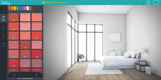 Colour Visualiser Tool Allows You To Experiment With Colours Online Before Even Begin Painting Can Pick And Choose For Your Own Room
