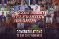 22nd Asian Television Awards 2017 nominees announced