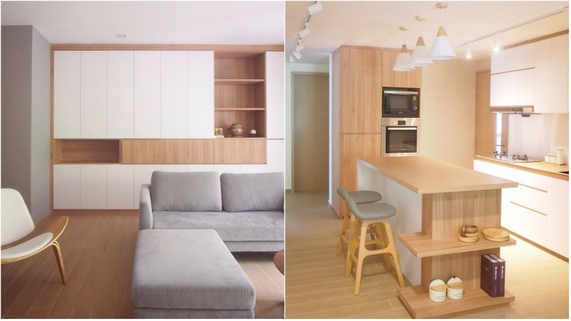 Step Into This Singaporean Couples Muji Style Home