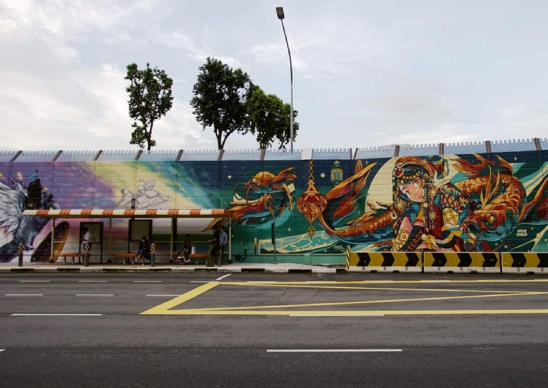 From construction site to canvas: Hall of Fame offers a sprawling street art experience in Kampong Gelam, Lifestyle News - AsiaOne