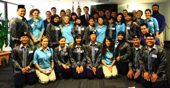 Group photo of participants at a previous AIYEP program