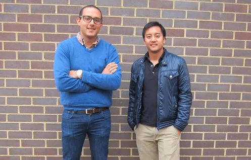 Mathew Benjamin and Jason Lim from Asia Recon