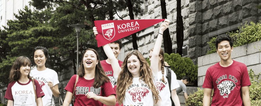 Korean University language program for foreign students