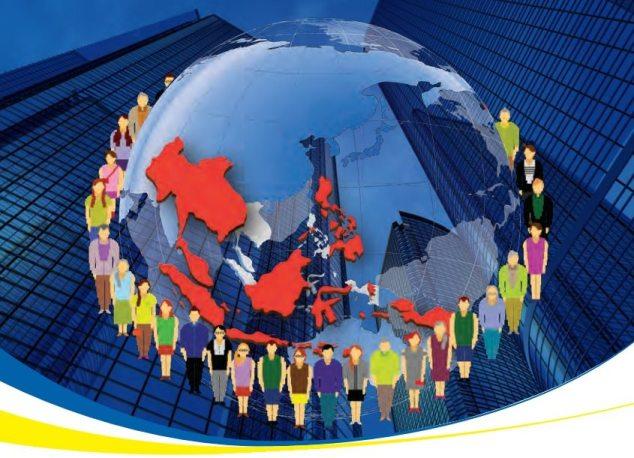 Thinking Globally, Prospering Regionally. Image courtesy ASEAN EC 2015